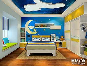男孩儿童房手绘墙可以设计什么图案?