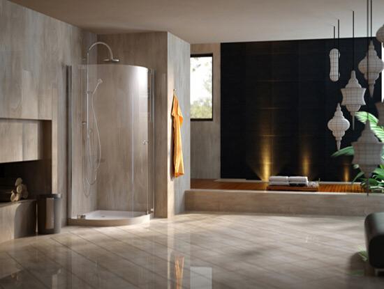弧形淋浴房尺寸规格一般多大