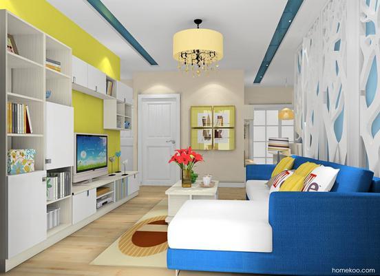 地中海风格装修图片客厅