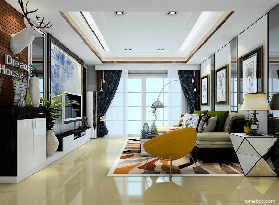 家装客厅设计效果图大全