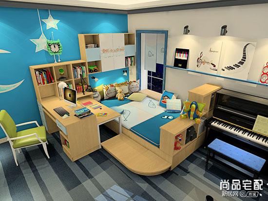 儿童房效果图男孩的怎么设计?