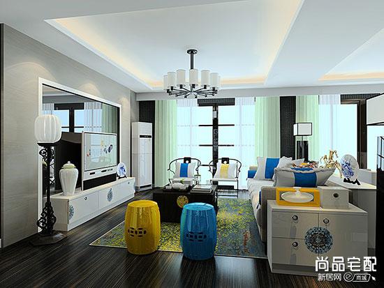 中式家居窗帘好看吗?