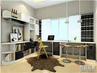 客厅兼书房装修怎么做比较好?