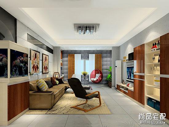 客厅吸顶灯效果图设计