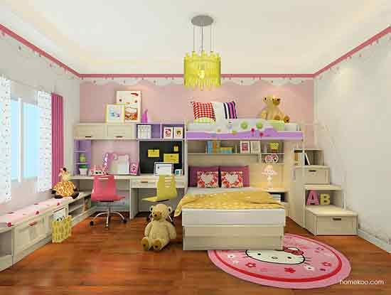 儿童房间装修效果图大全,有宝宝的可以看看