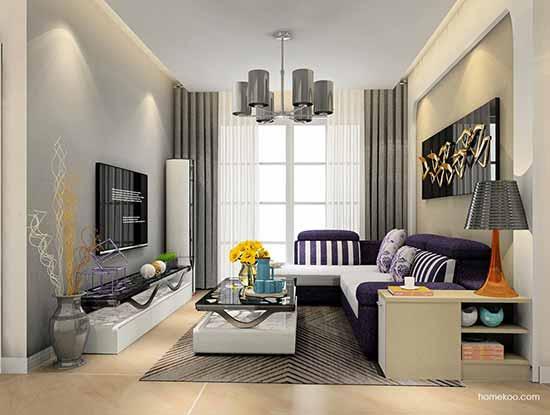 欧式电视墙背景图,增加空间的魅力