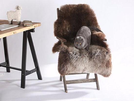 羊毛坐垫的保养