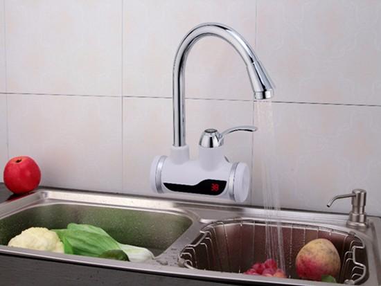 加热水龙头怎么安装
