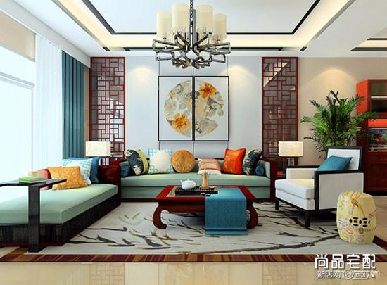 中式仿古灯具客厅一般用哪种?图片