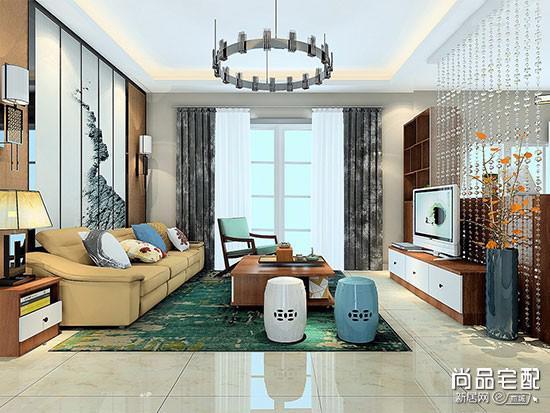 布艺沙发中式风格
