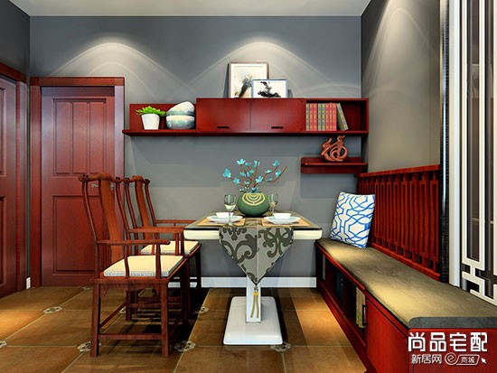 中式风格餐边柜