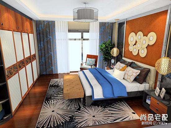 原木家具卧室颜色