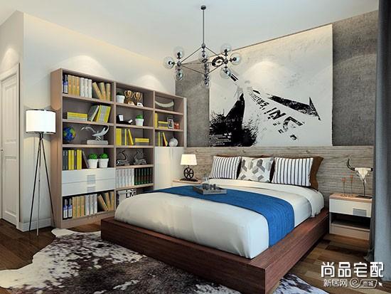 卧室床头背景墙墙纸