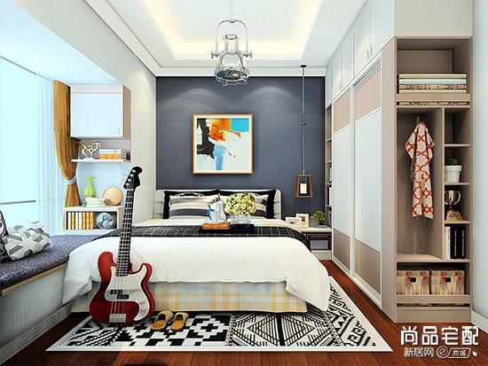 长方形小卧室怎么装修