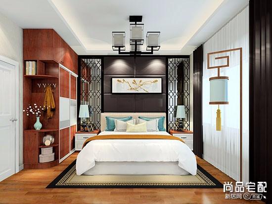 主卧室最简单背景墙