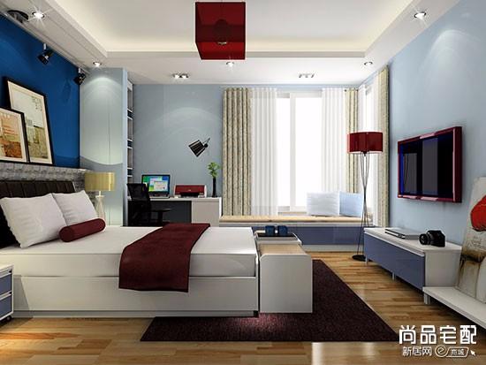 卧室选什么颜色窗帘