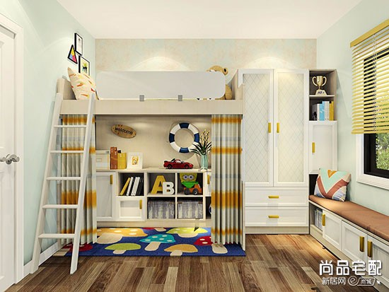 小户型儿童房装修图片