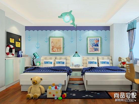 硅藻泥装修的儿童房效果图