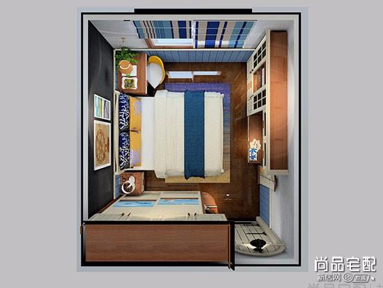 简欧儿童房装修效果图卧室