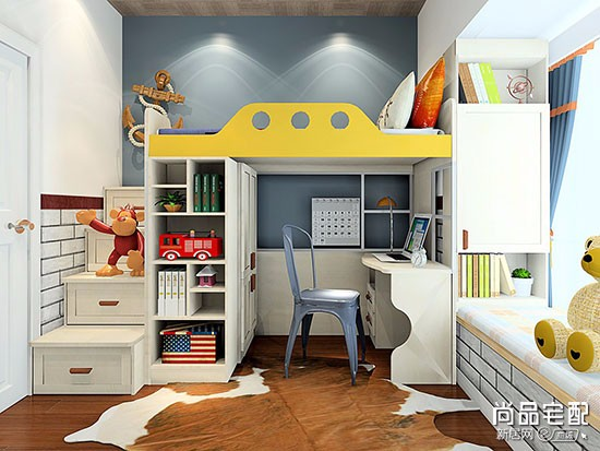 现代简约儿童房图片
