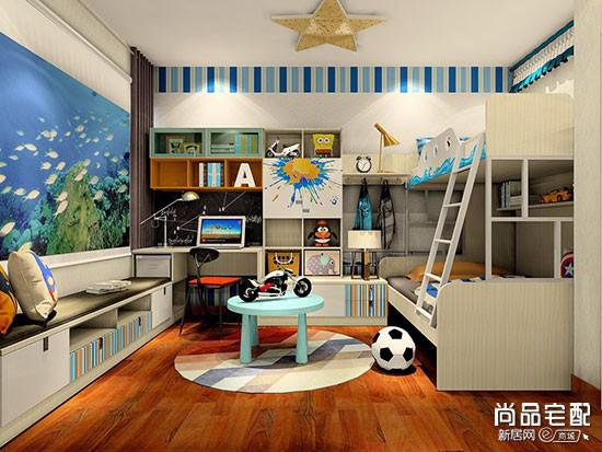 欧式儿童卧室设计