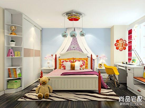 紫色儿童房图片纯