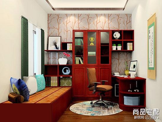 新中式10平方书房风格