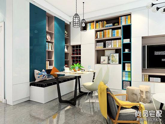 书房客房一体化装修