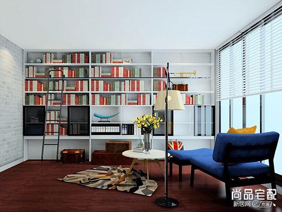 韩国书房装修效果图