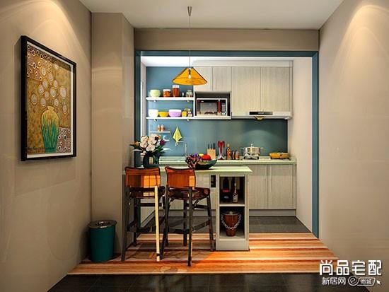 客厅餐厅厨房装修图片