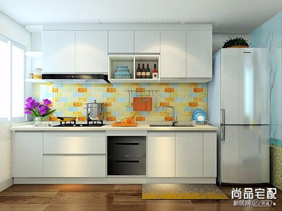 开放式厨房装修图