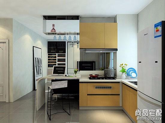 开放式厨房装修带餐桌