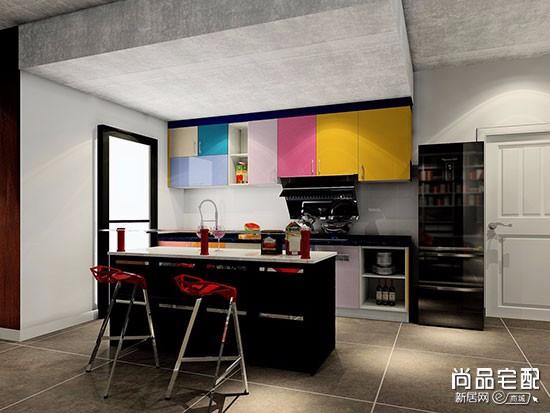 开放式厨房多少钱