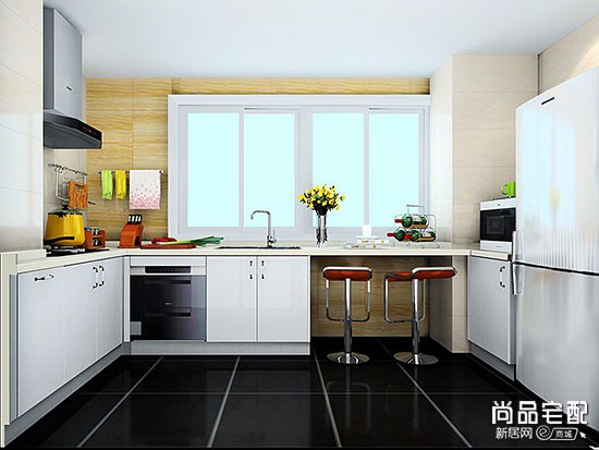 开放式厨房装修效果图欣赏