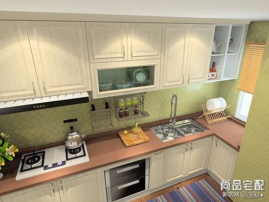厨房窗帘装修效果图