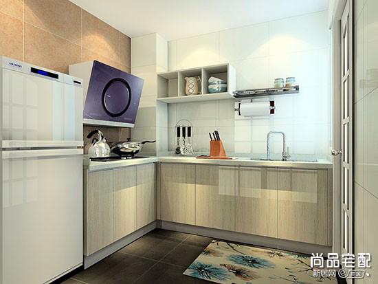 正方形小厨房装修效果