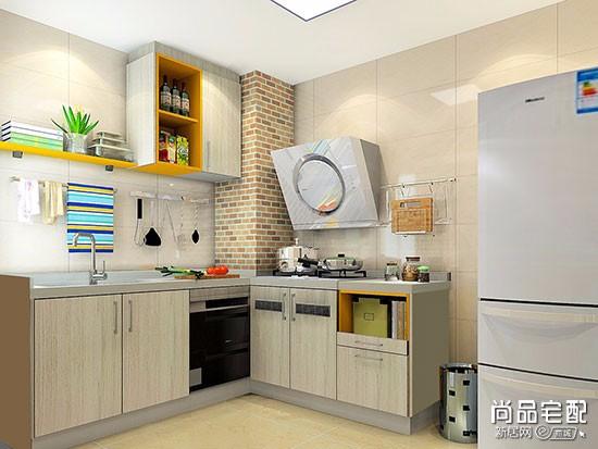 l型厨房装修