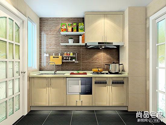 小厨房橱柜设计效果图