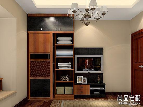 定制衣柜多层实木