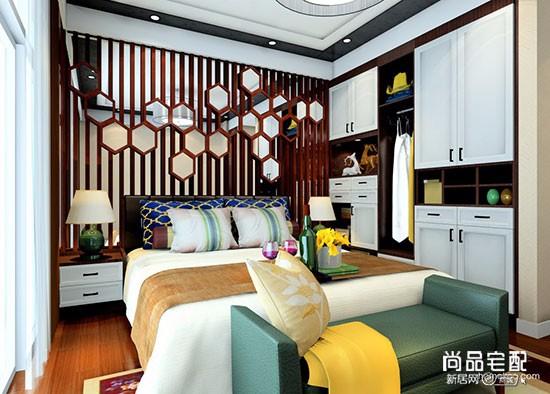 中式复古风卧室