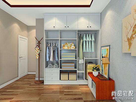卧室衣柜挂衣设计