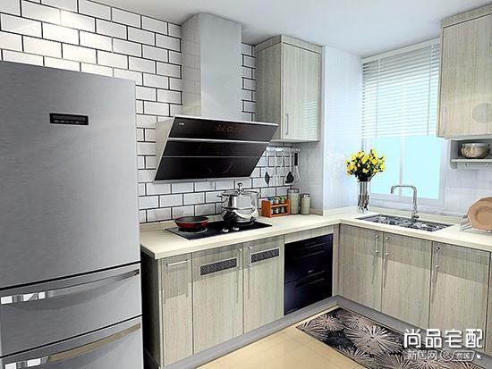 高级灰厨房装修效果图
