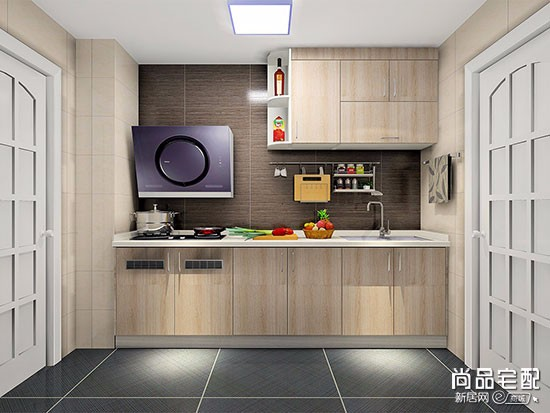 红色的厨房装修