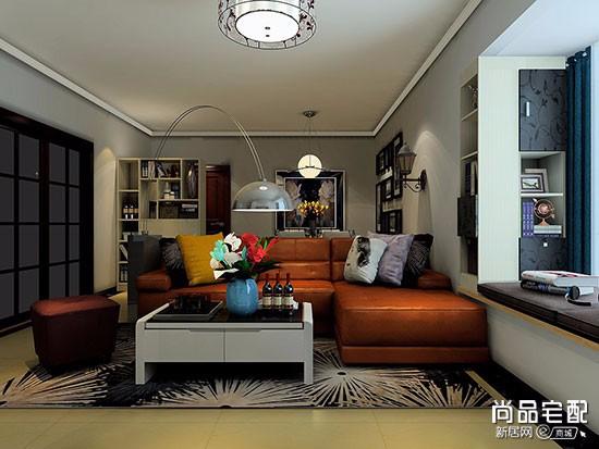 简欧客厅沙发