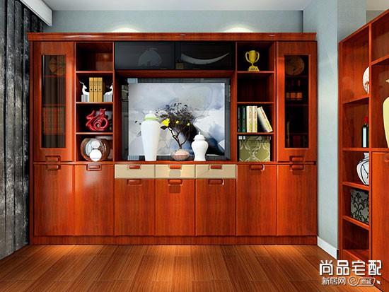 创意实木书柜