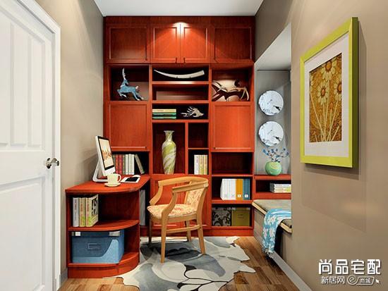 全实木书柜