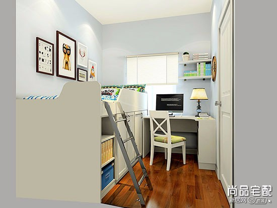 大学寝室书柜设计