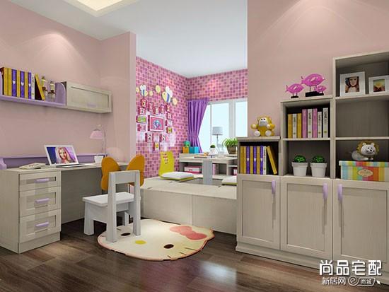儿童书房卧室布置