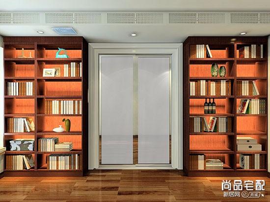 北欧风格定制书柜