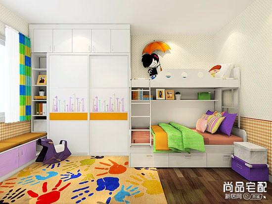 双人儿童房间装修风格